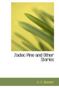 Zadoc Pine and Other Stories