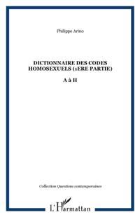 Dictionnaire des codes homosexuels