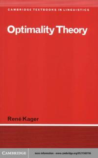 Optimality Theory