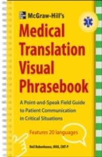 McGraw-Hill's Medical Translation Visual Phrasebook PB