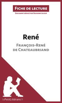 Rene de Francois-Rene de Chateaubriand (Fiche de lecture)