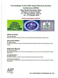 Proceedings of the Fifth Saudi Physical Society Conference (SPS5)