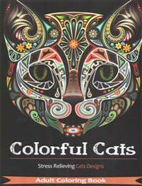 Colorful Cats: 30 Best Stress Relieving Cats Designs