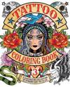 Tattoo Coloring, Book 3