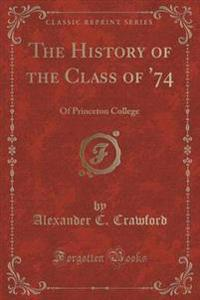 The History of the Class of '74
