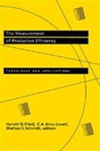 Measurement of Productive Efficiency and Productivity Growth