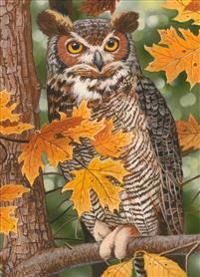 Autumn Owl: 1000pc Jigsaw Puzzle