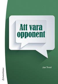 Att vara opponent