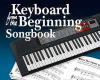Keyboard from the beginning - songbook