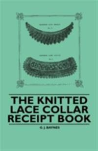 Knitted Lace Collar Receipt Book