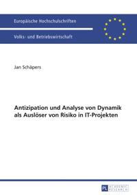Antizipation und Analyse von Dynamik als Ausloeser von Risiko in IT-Projekten