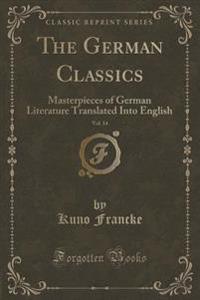 The German Classics, Vol. 14
