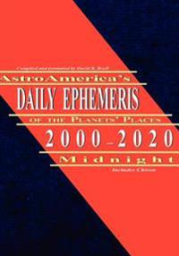 AstroAmerica's Daily Ephemeris of the Planets Places