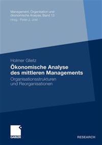konomische Analyse Des Mittleren Managements