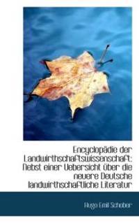 Encyclop Die Der Landwirthschaftswissenschaft