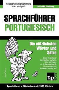 Sprachfuhrer Deutsch-Portugiesisch Und Kompaktworterbuch Mit 1500 Wortern