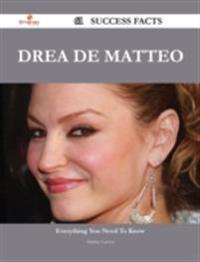 Drea de Matteo 61 Success Facts - Everything you need to know about Drea de Matteo