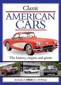 Classic American Cars (Print Pack)