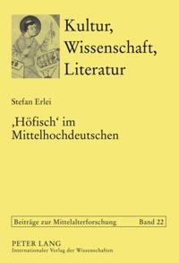 'Hoefisch' im Mittelhochdeutschen