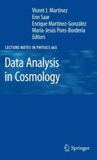 Data Analysis in Cosmology