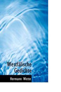 Westfalische Gedichte