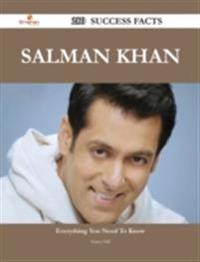 Salman Khan 280 Success Facts - Everything you need to know about Salman Khan