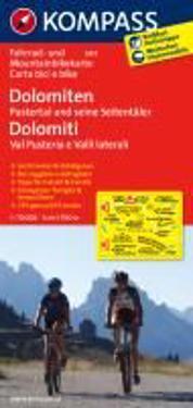 Dolomiten - Pustertal und seine Seitentäler Dolomiti - Val Pusteria e Valli laterali 1:70000