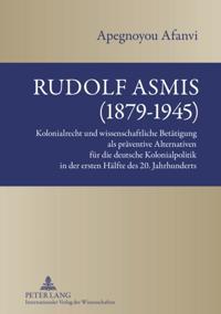Rudolf Asmis (1879-1945)