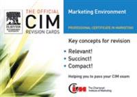 CIM Revision card: Marketing Environment 05/06