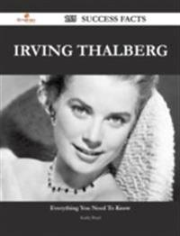 Irving Thalberg 155 Success Facts - Everything you need to know about Irving Thalberg