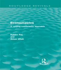 Econometrics (Routledge Revivals)