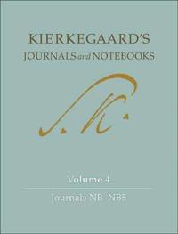Kierkegaard's Journals and Notebooks Journals Nb-nb5