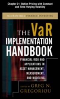 VAR Implementation Handbook, Chapter 21