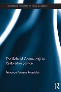 Role of Community in Restorative Justice