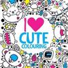 I Heart Cute Colouring