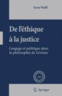 De L'ethique a la Justice