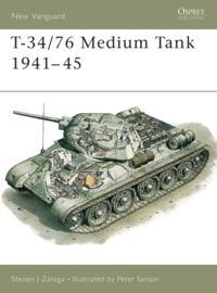 T-34/76 Medium Tank 1941 45