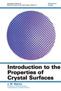 Introduction to the Properties of Crystal Surfaces