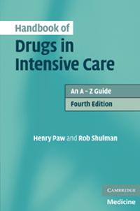 Handbook of Drugs in Intensive Care