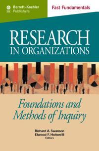 Research in Organizations c.21