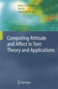 Computing Attitude and Affect in Text