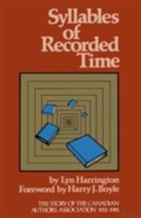 Syllables of Recorded Time