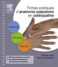 Fiches pratiques d'anatomie palpatoire en osteopathie
