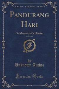 Pandurang Hari, Vol. 2 of 3