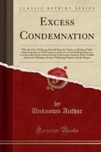 Excess Condemnation