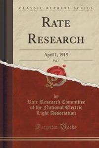 Rate Research, Vol. 7