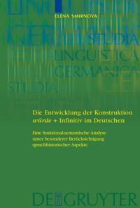 Die Entwicklung der Konstruktion wurde + Infinitiv im Deutschen