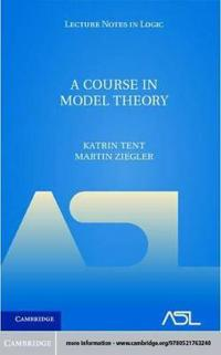 Course in Model Theory
