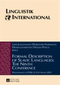 Formal Description of Slavic Languages