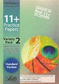 11+ Practice Papers, Variety Pack 2, Standard